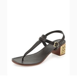 Tory Burch Audra thong sandal in blue